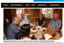 News-on-Tour Berichterstattung Kommunalwahl 2020
