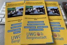 UWG Bergneustadt - Unsere politischen Schwerpunkte im Flyer