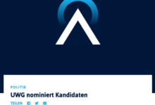 Oberberg-Aktuell - Screenshot Kandidatenauflistung