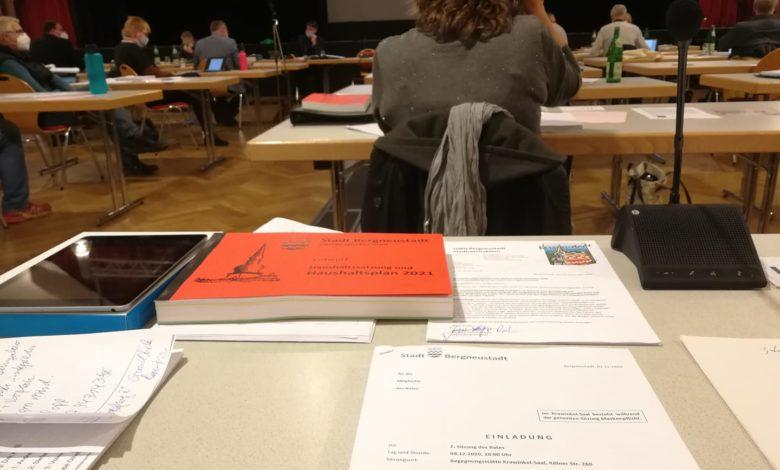 Stadtratssitzung Dezember 2020 - UWG Bergneustadt - Bericht von Jens-Holger Pütz.