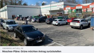 Presseschau Moschee Pläne Bergneustadt - Oberberg-Aktuell vom 18.02.2021
