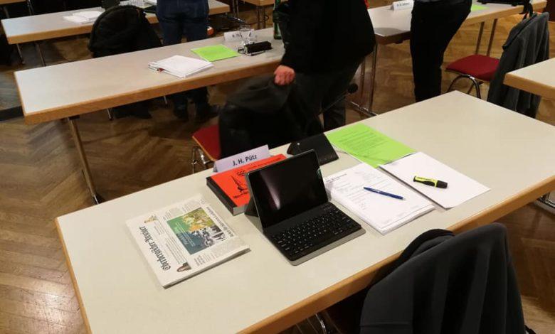 HFA Sitzung Stadtrat Bergneustadt - UWG