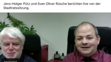 Virtuelle Bürgersprechstunde April 2021 - UWG Bergneustadt.