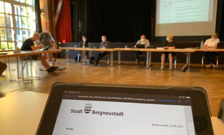 Ausschuss Umwelt und Zukunftsfragen am 2. Juni 2021 - Foto Sven Oliver Rüsche