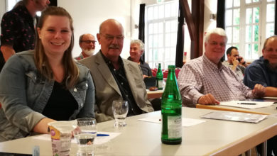 UWG Bergneustadt - Foto von der Stadtratsfraktion 2021
